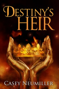 Destiny's Heir Cover - eBook Final